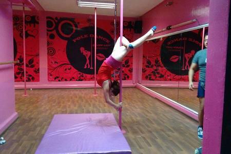 Pole Dance Golden Lady -