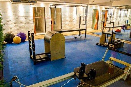 Academia Dalmo Ribeiro - Sala de pilates da Academia Dalmo Ribeiro Unidade 706 Norte