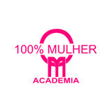 Academia 100% Mulher - logo