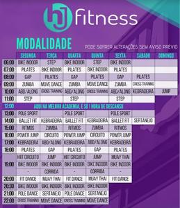 HJ Fitness Academia