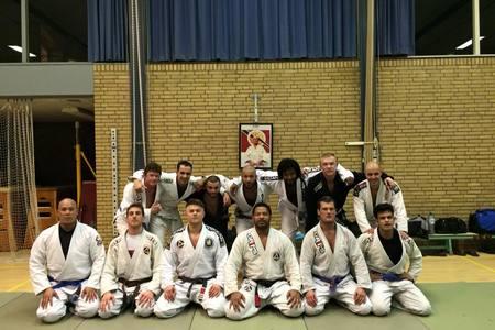 Rickson & Kron Gracie Jiu Jitsu Amsterdam -