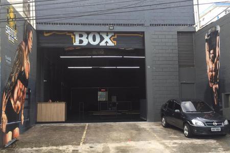 SKULL BOX CROSS -