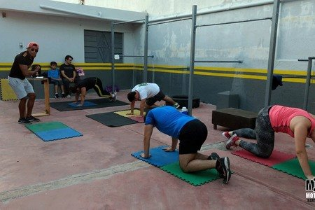 Motivation Bars Workout Francisco de Montejo -