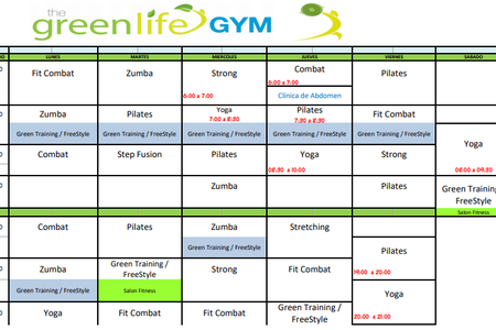The green life GYM