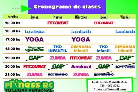 Fitness RC Gym