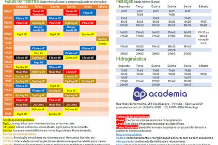 AP Academia - Unidade Mutinga