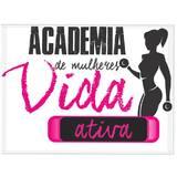Academia Feminina Vida Ativa - logo