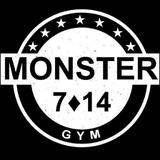 Gimnasio Monster 7•14 - logo
