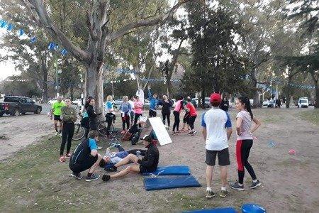 Cecilia Cámara Training Group PUNTA LARA