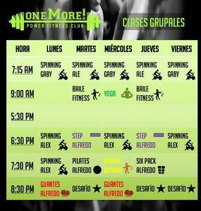 One More Power Fitness Club