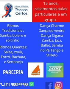 ESCOLA DE DANCA PASSOS CERTOS -