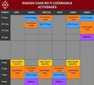 Shaoshi Chan Wu Yi Cuernavaca Centro