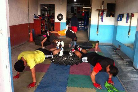 Guerreiros Boxing -