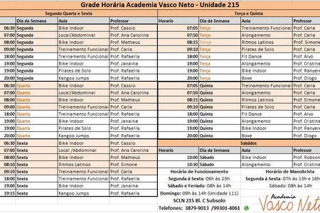 Academia Vasco Neto - Unidade 215