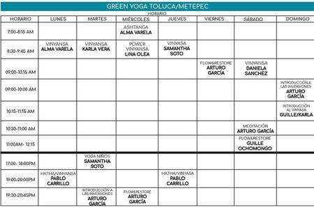 Green Yoga Toluca / Metepec