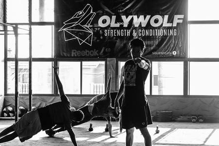 Oly Wolf Strength
