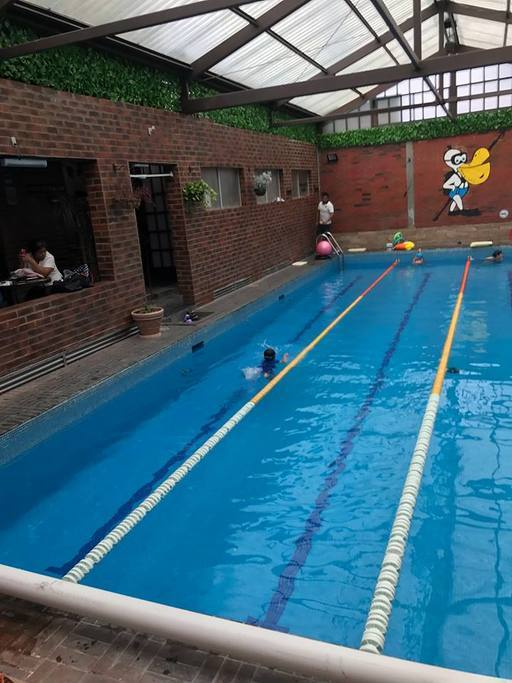Gimnasio escuela de nataci n la piscina bosque del sur for Piscina de natacion