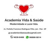 Academia Vida E Saúde Modernidade E Lazer - logo