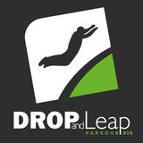 Drop and Leap Escola de Parkour   Bloquinhos Coloridos - logo